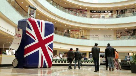 British Airways and VisitBritain - A Big British Flashmob