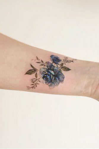 33 Rose Tattoos And Their Origin Symbolism And Meanings Blue Rose Tattoos Vintage Rose Tattoos Rose Tattoo Design