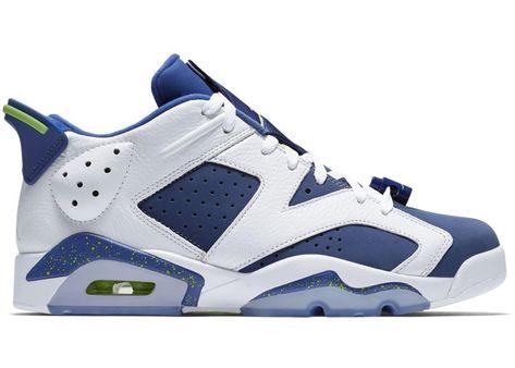 Jordan 6 Retro Low Ghost Green in 2020
