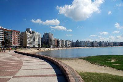 Pasear Por La Rambla De Montevideo Uruguay Montevideo Uruguay Montevideo Beautiful Places To Visit