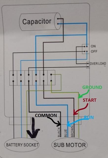 wiring diagram for 220 volt submersible pump diagram Nest Thermostat Wiring Diagram