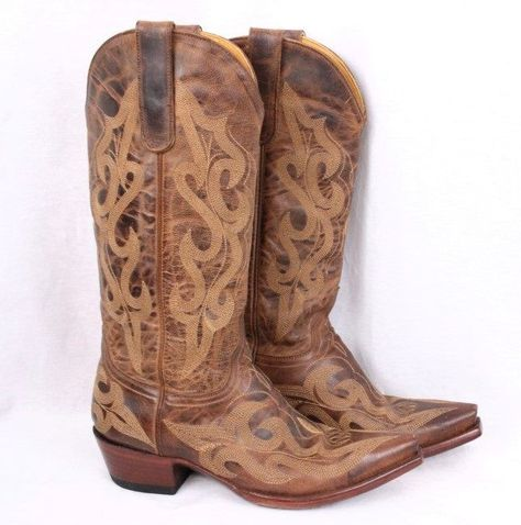 f5b3b8d8e81 OLD GRINGO Brown Distressed Leather Cowgirl Western Nevada Tall Boot ...