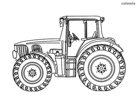 die 31 besten bilder von zeichnen | ausmalbilder traktor