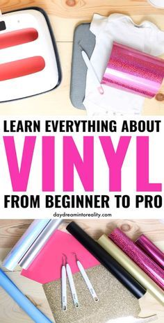 Adhesive Vinyl vs. HTV (Iron-on) | Everything You Need to Know