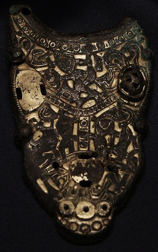 Anthropomorphic Brass Ornament At The Handle Of Buddha Bucket Botte Found With Oseberg Ship Burial Ca 800 CE Hmmmmmmmm