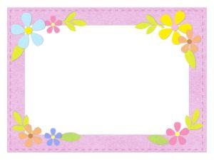 星とバースデーケーキのフレーム飾り枠イラスト 無料イラスト かわいいフリー素材集 フレームぽけっと 無料 イラスト かわいい 飾り枠 無料 イラスト
