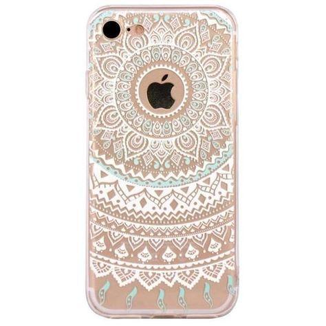 coque iphone 6 en mandala   Mandala iphone, Iphone 7 plus cases ...