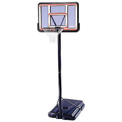 Lifetime 1269 Pro Court Height Adjustable Portable Basketball System 44 Inch Ebay Portable Basketball Hoop Basketball Systems Basketball Hoop
