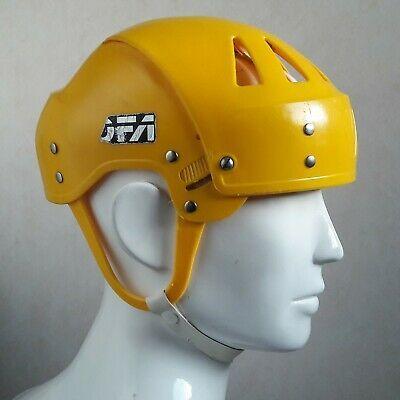 Advertisement Ebay Jofa Pro 225 51 Hockey Helmet Senior Size Yellow Icehockey Retro In 2020 Hockey Helmet Hockey Shoulder Pads Helmet