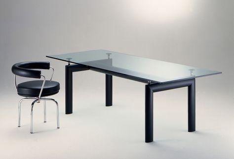 Tavolo LC6 con Sedia girevole, 1928 | Le Corbusier | Sedia ...