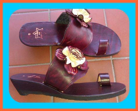 AMAZONA ROSA Summer Leather Sandals - $125 Handmade. https://www.etsy.com/shop/TropicalChicStyle
