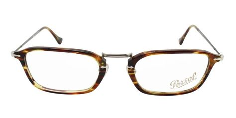 7715a26567 Persol Unisex PO 3044V Tortoise   Clear Lens Glasses – shadesdaddy