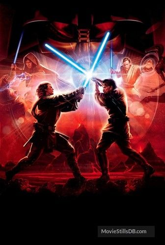 Star Wars Episode Iii Revenge Of The Sith Promotional Art Star Wars Anakin Star Wars Poster Star Wars Art