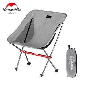 Naturehike Lightweight Portable Foldable Beach Chair Fold Up Fishing Picnic Chair Heavy Duty Outdoor Folding Camping Chair Seat Picnic Chairs Folding Camping Chairs Camping Pillows
