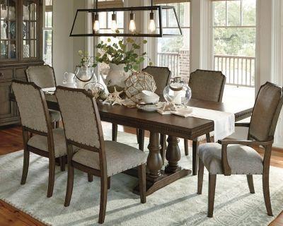 Larrenton Table And Base By Ashley Homestore Grayish Brown
