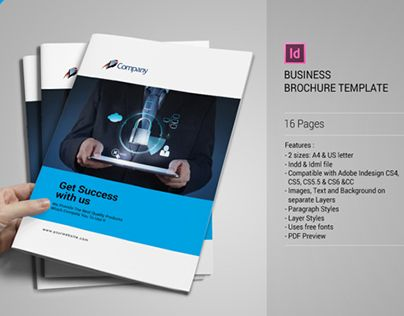 3rd runner up LCPR Pinterest Business brochure, Brochure - blank brochure templates