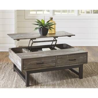 Heitman Lift Top Coffee Table With Storage Coffee Table With Storage Coffee Table Lift Top Coffee Table
