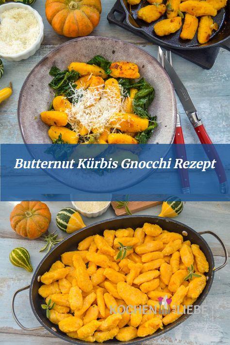 #kürbisgnocchi #kürbisrezept #gnocchiselbermachen #rezeptidee #gnocchirezept #butternutkürbis #vegetarisch #gesunderezepte #einfacherezepte #