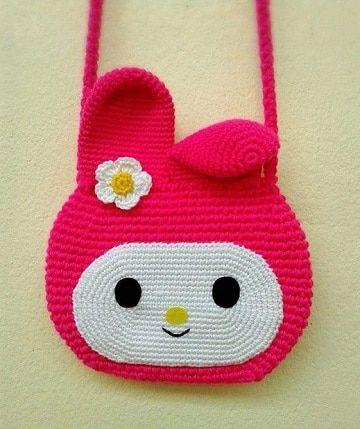 disfruta del mejor precio mejor lo último Las bolsas tejidas para niña tan originales como lindas ...