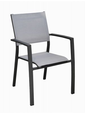 Fauteuil Games Empilable Graphite Perle Proloisirs Chaises