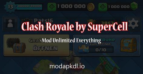 Download Clash Royale Mod Apk Unlimited Gold Gems Latest On