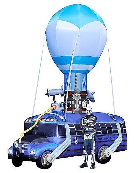17 5 Ft Battle Bus Inflatable Fortnite Spirithalloween Com