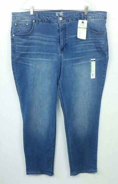 6245a8e3055ac Just My Size JMS Women s 18W Average Jeans Stretch Classic Medium Blue Denim   JustMySize