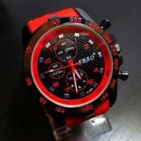 Wish | 2015 Mens Watch Luxury Stainless Steel Sport Analog Quartz Modern Wrist Watch