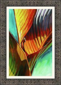 art framing ideas. Tropicanna Canna - Framing Idea Art Ideas A