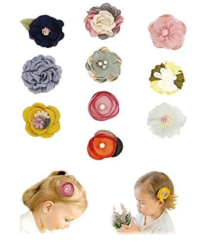 Baby Girl Hair Clips Bows Barrettes Fully Lined Alligator Clip Hair Accessories for Little Girls Toddler Kids Children