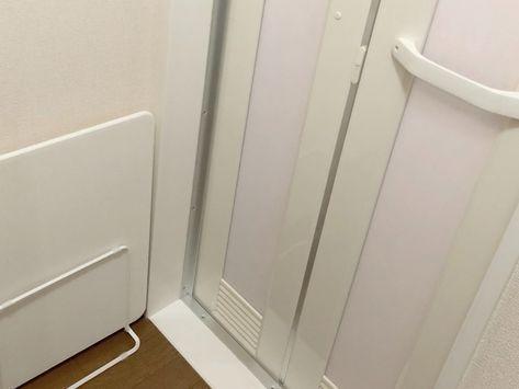 大掃除 お風呂のドアを丸洗い 頑固汚れを綺麗にしよう 大掃除 オキシクリーン お風呂 風呂 カビ 掃除