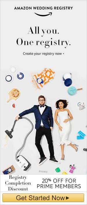 Amazon Wedding Registry Guide Review Wedding Gift List Ideas Clickshipnow Amazon Wedding Registry Wedding Registry Wedding Gift List