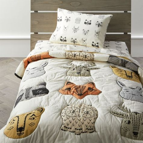Shop Roxy Marj Woodland Animal Toddler Bedding. A crew of fanciful forest critters including foxes, raccoons and bunnies makes our woodland animal toddler bedding stand apart from the pack.