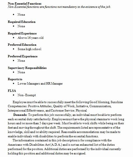 Starbucks Barista Job Description Resume Unique Barista Job Description Resume Samples In 2020 Nurse Job Description Jobs For Teachers Office Assistant Job Description