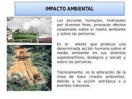 El Impacto Ambiental De Las Poblaciones Humanas Impacto Ambiental Poblacion Humana Ambientales