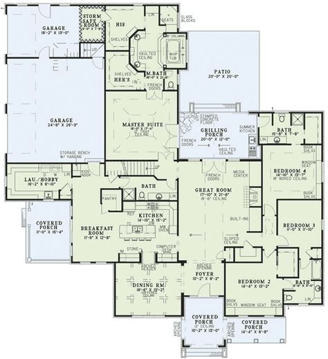 Fabulous floor plan, but way more room than I want in the next house.