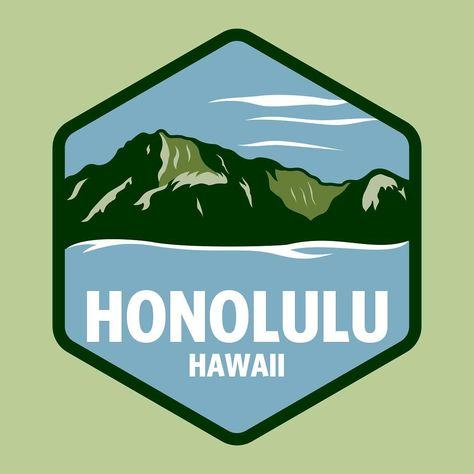1587560726 Four weeks in use and already 1.4 million views. See you soon. Thanks!   graphicdesign  hawaii  honolulu  diamondhead  badge  crest  illustration   snapchat