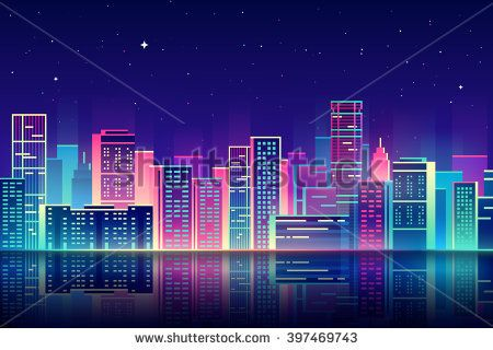 Lsynthtraxprotectorgostdancewiththedead - City skylines turned into geometric metropolises by scott uminga