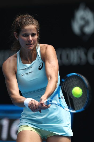 Julia Georges Photos Photos 2018 Australian Open Day 1 Julia Goerges Tennis Players Female Julia