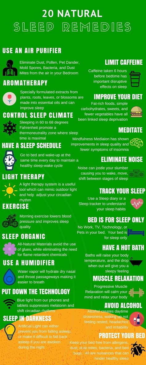 20 Natural Remedies for Staying Asleep - www.SlickSleep.com
