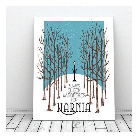 Always Check Wardrobes For Narnia Narnia by DigitalDecobyKendra