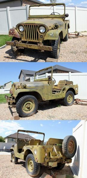 Jeep M38a1 Willys Md Military Jeep Military Jeep Willys Willys