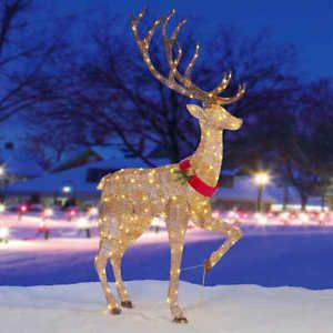 84 5 Ling Led Deer Christmas Outdoor Decoration