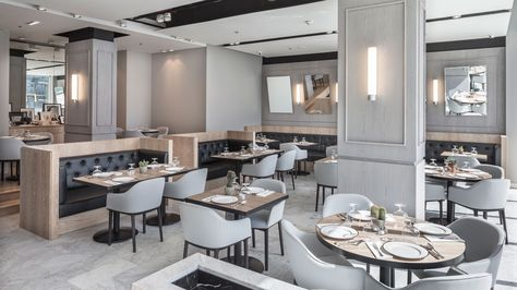 No57 Boutique Cafe in Abu Dhabi by Anarchitect Dinner club, Abu - capri suite moderne einrichtung
