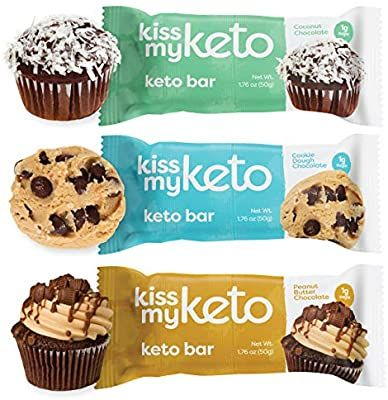 Amazon Com Kiss My Keto Bars Low Carb 3g Net Low Sugar Keto Snack Bars Chocolate Variety Pack 12 Pa Keto Bars Low Carb Protein Bars Keto Protein Bars