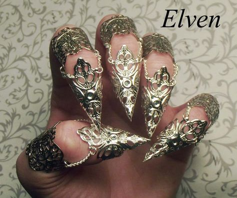 SINGLE Elven Claw // Silver, Bronze, Gold, Gunmetal