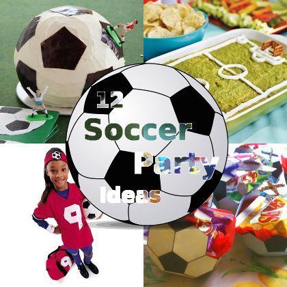 12 Soccer-Themed Party Ideas