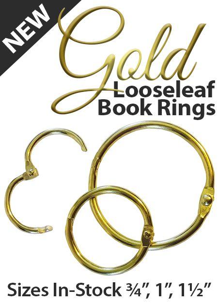 Finally I Found Gold Book Rings Yes Bookrings Bindingrings Goldrings Looseleaf Goldbookrings Book Binder Gold Book Loose Leaf