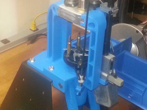 My Dillon Rl550b Setup To Reload 223 Reloading Ammo Reloading Room Reloading Bench