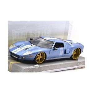 Jada Toys 1 24scale Bigtime Muscle 2005 Ford Gt Blue ジェイダトイズ 1 24スケール ビ スケール